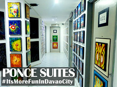Ponce Suites Gallery Hotel - Wall / Door Art (itsmorefunindavaocity) Tags: art tourism wall hotel asia gallery philippines hallway ponce davao mindanao millan kublai davaodelsur itsmorefunindavaocity
