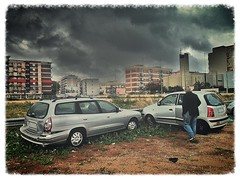 Incidentato (triziofrancesco) Tags: auto automobile macchina incidente atos