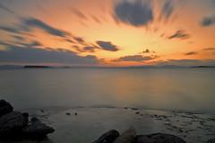 Sunset LE (n.pantazis) Tags: longexposure voula neutraldensity nd4