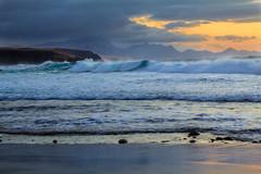 Dreamland. (Anscheinend) Tags: sunset sea beach spain waves fuerteventura kanaren playa espana spanien islascanarias lapared kanarischeinseln canarianislands