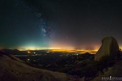 Foggy Milky Way (ihikesandiego) Tags: way san mt diego milky woodson
