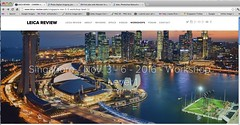 My image was stolen by LEICA Rreview workshop (williamcho) Tags: leica architecture singapore bluehour copyrightinfringement marinabay imagetheft marinabaysands artsciencemuseum