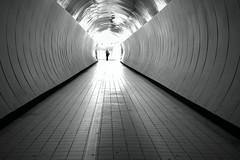 O (Daniel Staaf Photography) Tags: street blackandwhite bw monochrome zeiss 35mm blackwhite sweden stockholm sony streetphotography tunnel streetphoto 3528 nex7