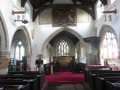 All Saints' Church, Sutton Courtenay (John Steedman) Tags: uk greatbritain england church unitedkingdom berkshire oxfordshire allsaints berks oxon grossbritannien     grandebretagne suttoncourtenay