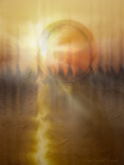 """""""It's a new dawn, it's a new day ...."""" (Elisafox22) Tags: elisafox22 sony rx100 sliderssunday hss crystal sphere light orb round colours lightflare photomanipulation photoshop texture postprocessing photomanipulated textures elisaliddell©2016"""