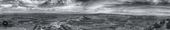Panormica Brdenas Reales (Javier Colmenero) Tags: panorama landscape blackwhite nikon desert paisaje desierto navarra panormica sigma1020mm bardenasreales nikond3100