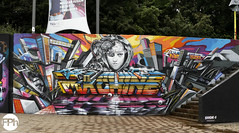Fleks & Mr. Mister (Frankhuizen Photography) Tags: street art netherlands festival photography graffiti paint fotografie mr nederland eindhoven arena step mister walls sita 2016 fleks