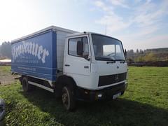 MB LN 814 (Vehicle Tim) Tags: truck mercedes mb fahrzeug koffer lkw