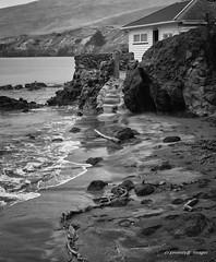 Path from the sea_2 (Seventy8 Images) Tags: sea blackandwhite beach waves batch crib