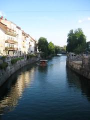 ljubljanica2 (Wiebke) Tags: ljubljana slovenia europe vacationphotos travel travelphotos ljubljanica ljubljanicariver river