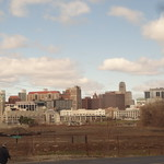 Albany. New York State capital.  From the Amtrack Adirondack train to Montreal. thumbnail