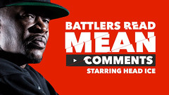 KOTD  Battlers Read Mean Comments  Head I.C.E.... (battledomination) Tags: ice t one big freestyle king ultimate head pat domination clips battle dot read charlie mean hiphop rap lush smack trex comments league stay mook rapping murda battles rone the conceited  charron saurus battlers arsonal kotd dizaster filmon battledomination