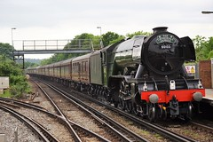 60103 'Flying Scotsman' - 1Z82 - Purley (Matt7712) Tags: west london station train coast flying pacific engine cathedrals railway surrey steam dreams a3 locomotive express charter scotsman purley 4472 60103 wcrc 47580 1z82