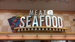 Meat & Seafood Slightly Closer-Up Than Last Time (Retail Retell) Tags: kroger grocery store s perkins east memphis tn former schnucks seessels albertsons industrial circus decor shelby county retail