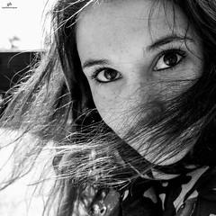 Portrait . X20 . (AKromatiCK) Tags: portrait blackandwhite bw girl noiretblanc nb fujifilm fille x20 fujifilmx20