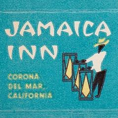 Jamaica Inn Corona Del Mar California Matchbook Cover 1 (hmdavid) Tags: california art illustration inn cover jamaica 1950s coronadelmar matchbook midcentury matchcover