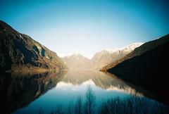 aurlandsfjord, november 2014 (kodacolorframes) Tags: travel film norway 35mm lomo lca lomography analogue scandinavia flm aurlandsfjord sooc kodakektar100