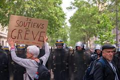 Contre la loi travail El Khomri (dprezat) Tags: street people paris nikon contest protest politique manifestation opposition d800 syndicat autonome nikond800 loitravail elkohmri