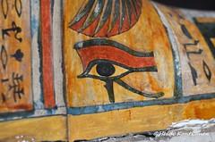 Protecting eye (konde) Tags: eye ancient priest coffin hieroglyphs thebes deities wadjet deirelbahri anthropoid 25thdynasty thirdintermediateperiod mummycoffin