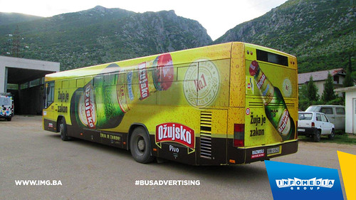 Info Media Group - Ožujsko pivo, BUS Outdoor Advertising, Mostar 05-2016 (2)