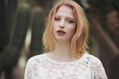 Fire in her soul (Anastasia Vervueren) Tags: photography ginger redhead eyes desert soul beauty portrait fashion