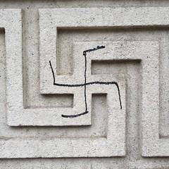 (eyair) Tags: ashmashashmash uk london england swastika whitehall