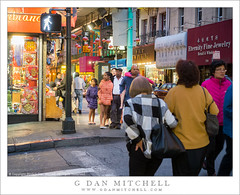 Pedestrians, Night (G Dan Mitchell) Tags: sanfrancisco california street people urban usa photography chinatown grant pedestrians avenue walkers
