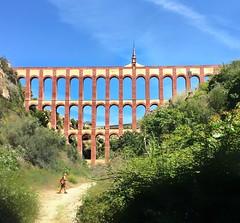 El acueducto del aguila - Eagle's Aqueduct - between Nerja and Maro (juliavhill) Tags: spain andalucia aqueduct acueducto nerja maro eaglesaqueduct elacueductodelaguila