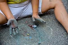 Piccolo madonnaro (NoemiM4) Tags: chalk colours mantova 2016 naturalmente