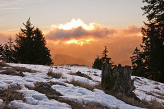 rasarit rarau (George Papuc) Tags: winter mountain sunrise landscape nikon d90