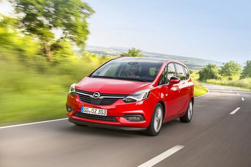 Opel Zafira Turbo