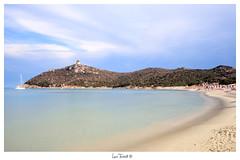 Sardegna - Villasimius (luca.ticchiati) Tags: sardegna blue italy beautiful canon coast seaside holidays long peace view bluesky exposition 1855mm spiaggia