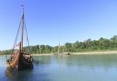 "Viking Ship-Draken Harald Hrfagre (Xsbmrnr (Please read profile before ""following"") Tags: drakenharaldhrfagre stcatharines wellandcanal viking ship vikingship canon 7d canondslr canon7d theprideofbaltimore"