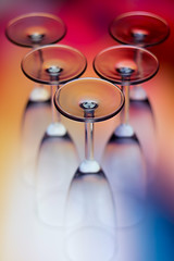 upside down (mazin.alrasheed) Tags: glass glassware cups colors colorfull