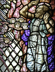 """It is Your Face, O Lord, that I seek"" (Lawrence OP) Tags: museum god glasgow glory stainedglass angels elijah prophet biblical"