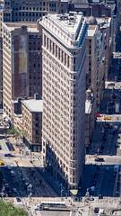 Flatiron Building, New York City (jag9889) Tags: nyc newyorkcity usa ny newyork building architecture skyscraper observation unitedstates outdoor manhattan unitedstatesofamerica 5thavenue aerialview landmark midtown deck observatory esb empirestatebuilding fifthavenue flatironbuilding openair 2016 flatirondistrict jag9889 20160610