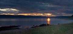 Sunset over Kintyre (Andrew Henning Photography) Tags: sunset sea seascape water coast scotland arran kintyre