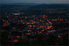 after sunset. (:: Blende 22 ::) Tags: city light streets night germany dark deutschland thringen thuringia illuminated heiligenstadt efs1855mmf3556 eichsfeld theodorstorm heilbad canoneos400ddigital canoneosd
