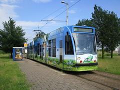 GVBA tram 2097 Diemen Sniep (Arthur-A) Tags: netherlands amsterdam tea nederland tram streetcar greentea tramway diemen thee strassenbahn electrico tranvia gvb combino tramvia groenethee gvba