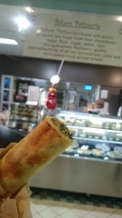 Spinach ricotta roll AUD2.80 - Baker's Patisserie, Extra Fresh Market, Bentleigh (avlxyz) Tags: fb pastry ricotta spinach