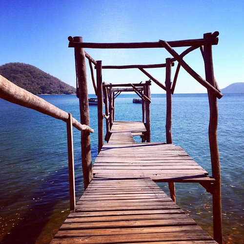 Abfahrt von hier am #lakemalawi #afrika nach #mumboisland