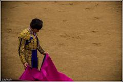 En la arena de Las Ventas (Julio Pinelli) Tags: madrid plaza de toros torero tauromaquia