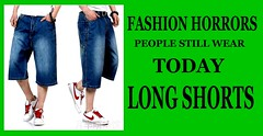 Fashion Horrors 3 (80s Muslc Rocks) Tags: summer beach fashion long legs text ugly mens yuck shorts horrors menswear longshorts fashionmistakes walkshorts thingsnottowear