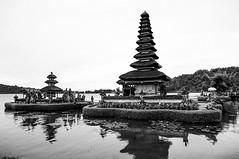 Ulundanu Beratan Temple Bedugul - Bali (Made Wenten B) Tags: bw bali black temple lumix culture olympus pura wentz vario beratan bedugul ulundanu ep5 madewenten 1232mm