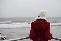 Goodbye Winter (Art Sarnese Photography) Tags: winter portrait snow 35mm newjersey nikon bokeh nj depthoffield oceancity ocnj nikond3300 d3300 afsdxnikkor35mmf18g