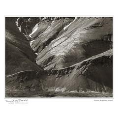 Erosion, Borgarnes, Iceland (Terry McDonald - www.luxborealis.com) Tags: detail texture landscape graphicdesign scenery pattern erosion scree volcanic sjk talus lavafield stjohnskilmarnockschool iceland2016