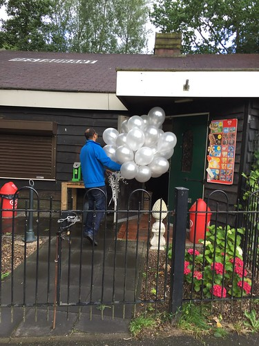 Heliumballonnen Restaurant De Gulle Gasterij Rotterdam