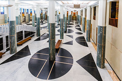 The Marble Foyer of Parliament House (WhiteWith0ne) Tags: architecture au columns entrance australia government canberra marble capitalhill foyer act parliamenthouse australiancapitalterritory parliamentofaustralia canonef1635mmf4lisusm canoneos6d whitewithonenet