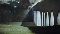 Rostokino Aqueduct (vetpht) Tags: city longexposure bridge film architecture 35mm cityscape russia moscow aqueduct zenit 135mm  vdnh     suntar