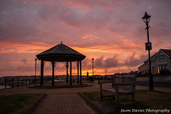 Bandstand sunset (Jason Davies Photography) Tags: sunset sky colour tourism silhouette canon landscape photography westwales bandstand pembrokeshire milfordhaven pembrokeshirewales canonphotography sigmalenses canon1000d mhpa sigma1850f2845 visitpembrokeshire milfordhavensunset jasondaviesphotography portofmilfordhaven